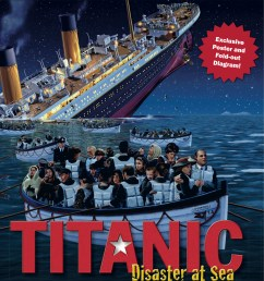 titanic disaster at sea is a really nice book it even has a fold out poster all the pages are in color and it is almost like a scrapbook of the titanic  [ 1006 x 1200 Pixel ]