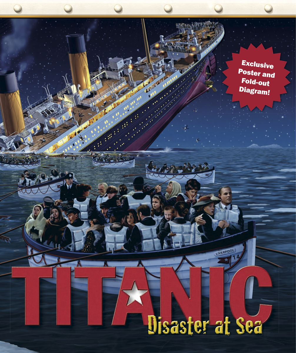 hight resolution of titanic disaster at sea is a really nice book it even has a fold out poster all the pages are in color and it is almost like a scrapbook of the titanic