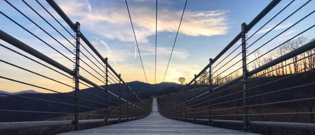 Gatlinburg SkyBridge   Longest Pedestrian Bridge in North America