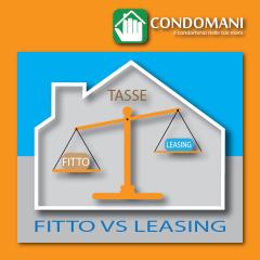 Ora anche il leasing per le abitazioni