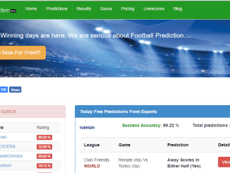 The best football prediction Site