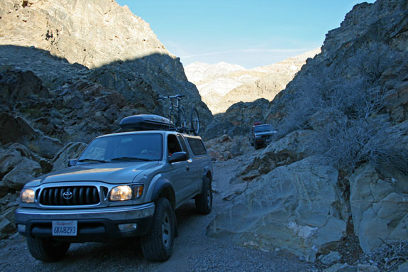 4wd in Dedeckera Canyon