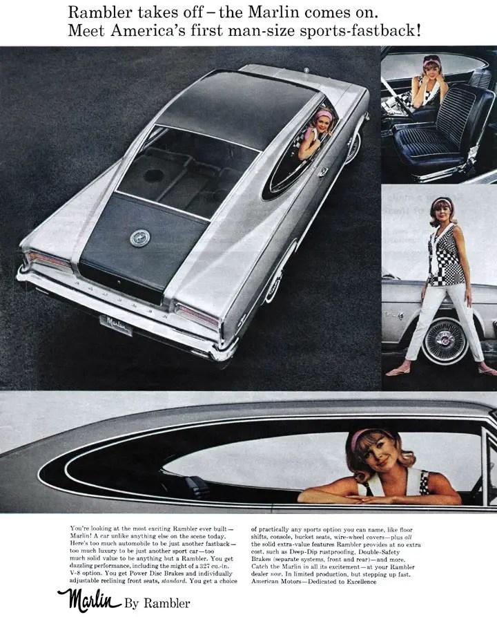 1965 Rambler : rambler, Classic, Rambler, Marlin, Daily, Drive, Consumer, Guide®