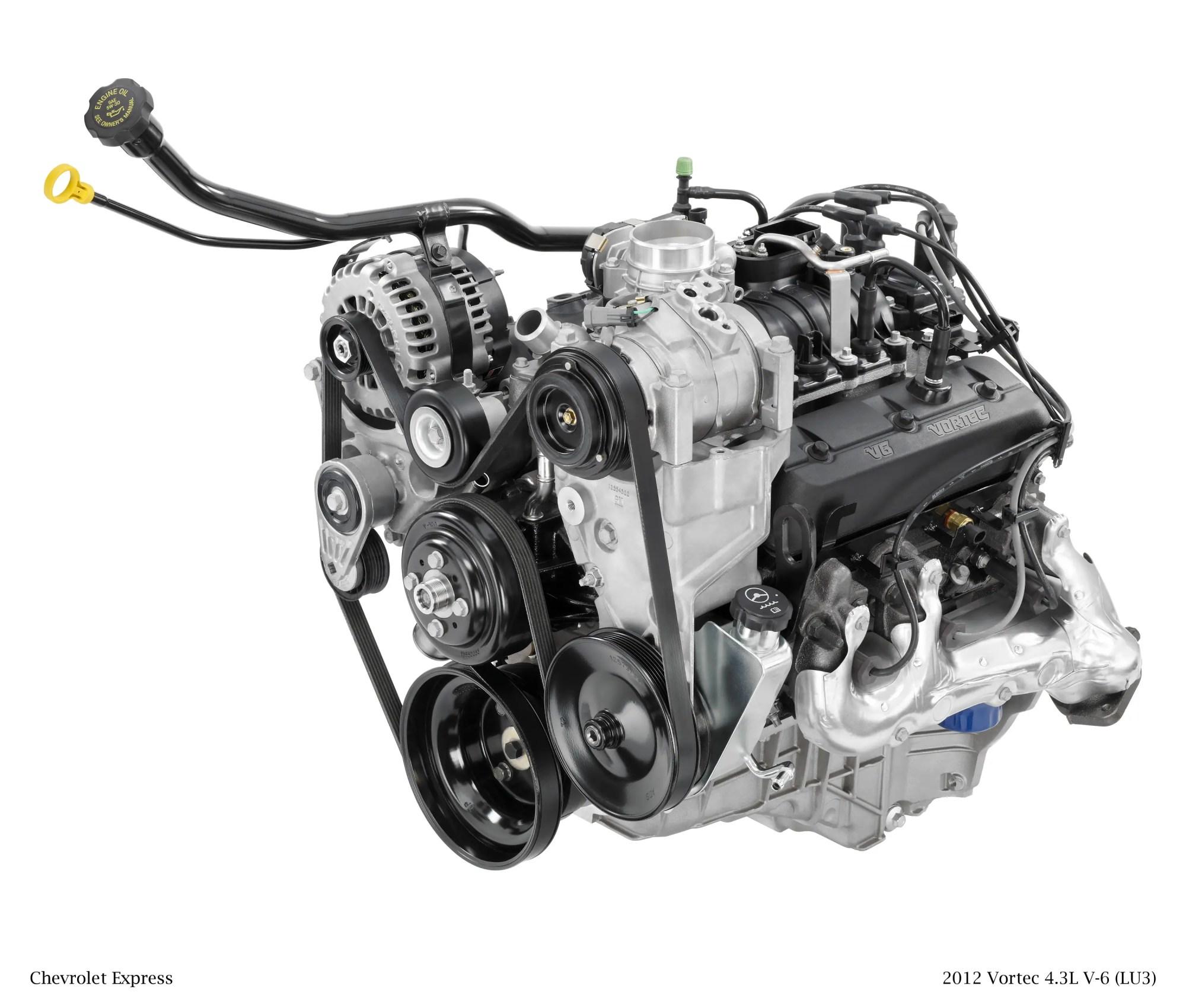 hight resolution of 2012 vortec 4 3l v 6 lu3 for chevrolet express engines we