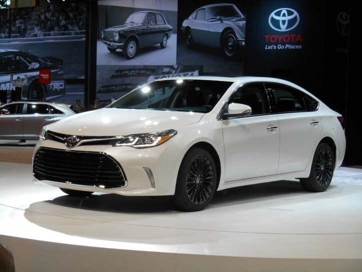 interior all new camry 2016 harga kijang innova 2.4 q a/t diesel venturer toyota avalon and corolla masters of mild the daily