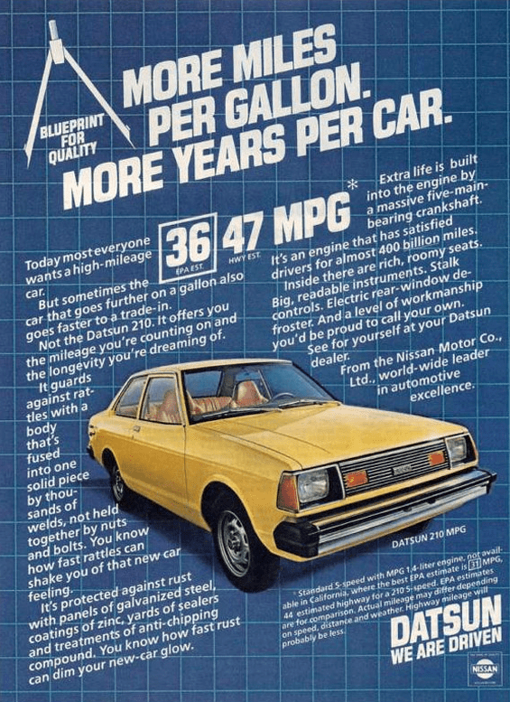 MPG Madness 10 Classic Ads Touting Fuel Economy  The