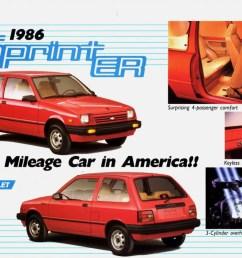 1986 chevrolet sprint er [ 1024 x 797 Pixel ]