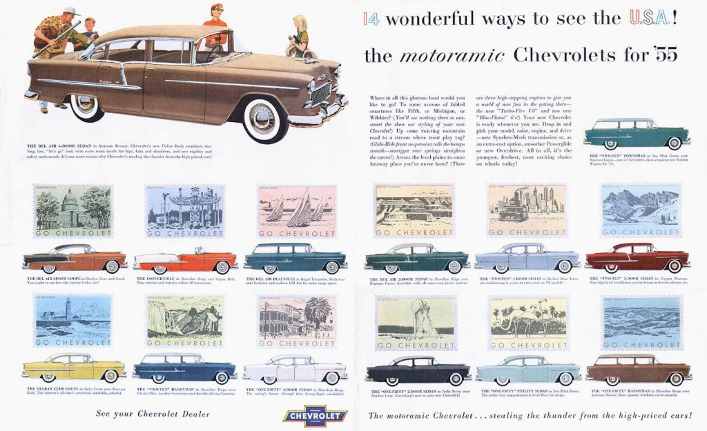 Full Line Madness 10 Classic Cars Ads Featuring The