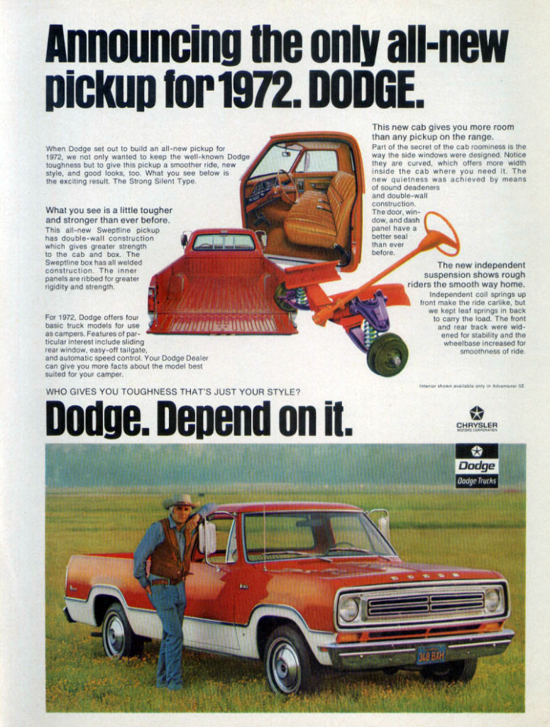 hight resolution of 1972 dodge pickup ad