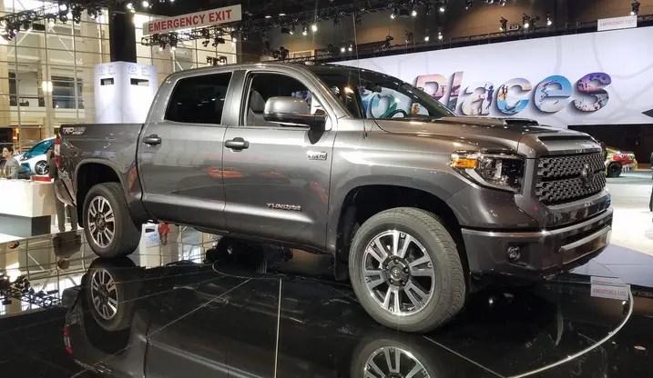 2017 Chicago Auto Show 2018 Toyota Tundra TRD Sport  The