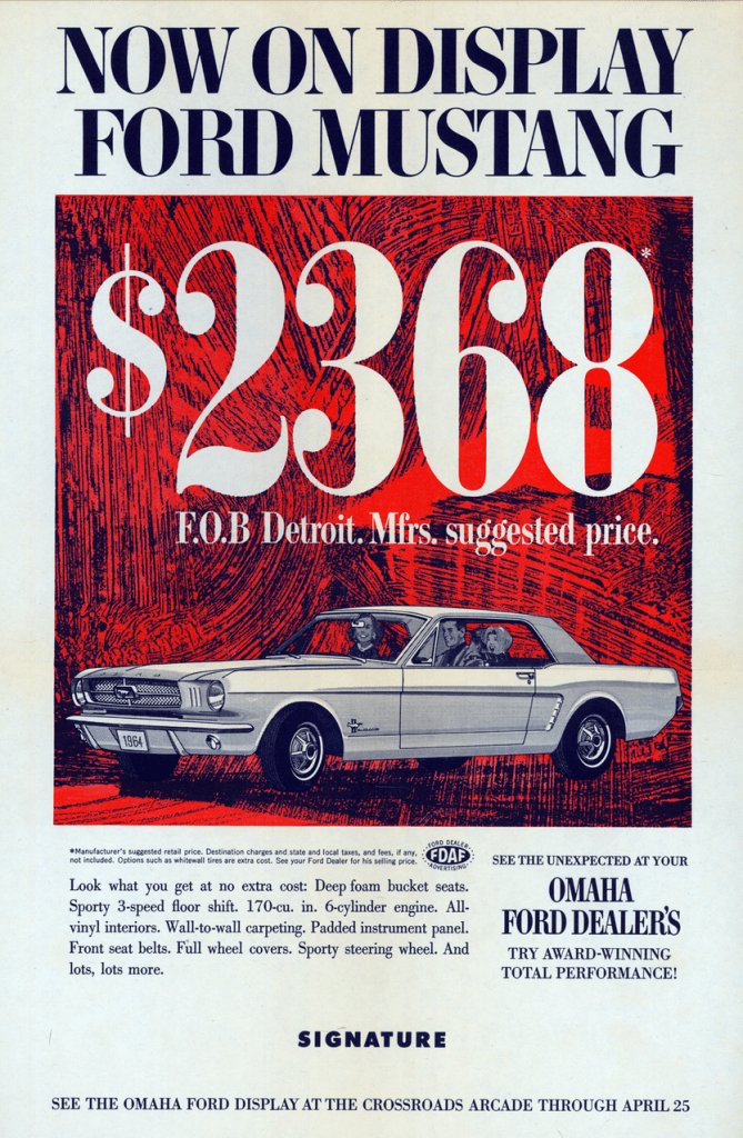 Model Year Madness 10 Classic Ads From 1965 The Daily
