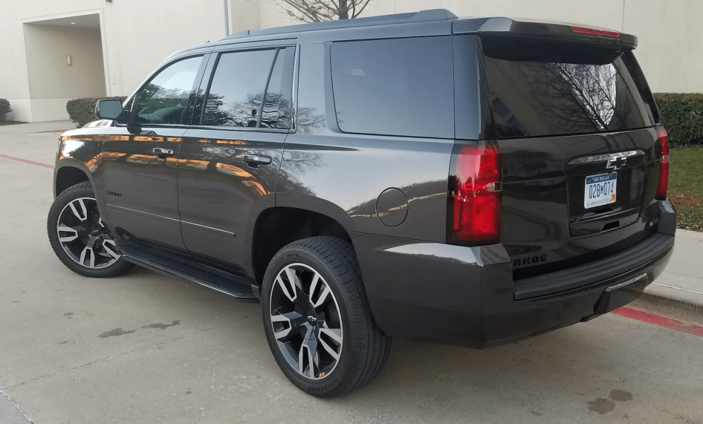 first spin 2018 chevrolet tahoe rst