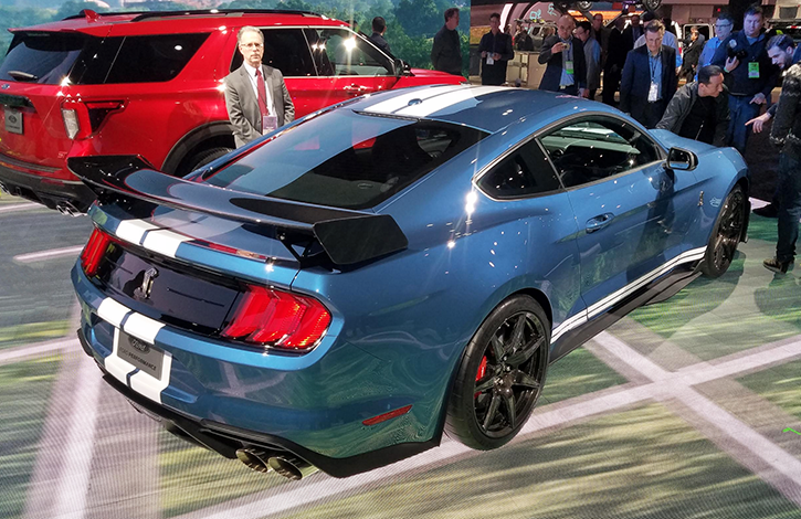 2019 Detroit Auto Show 2020 Ford Mustang Shelby Gt500