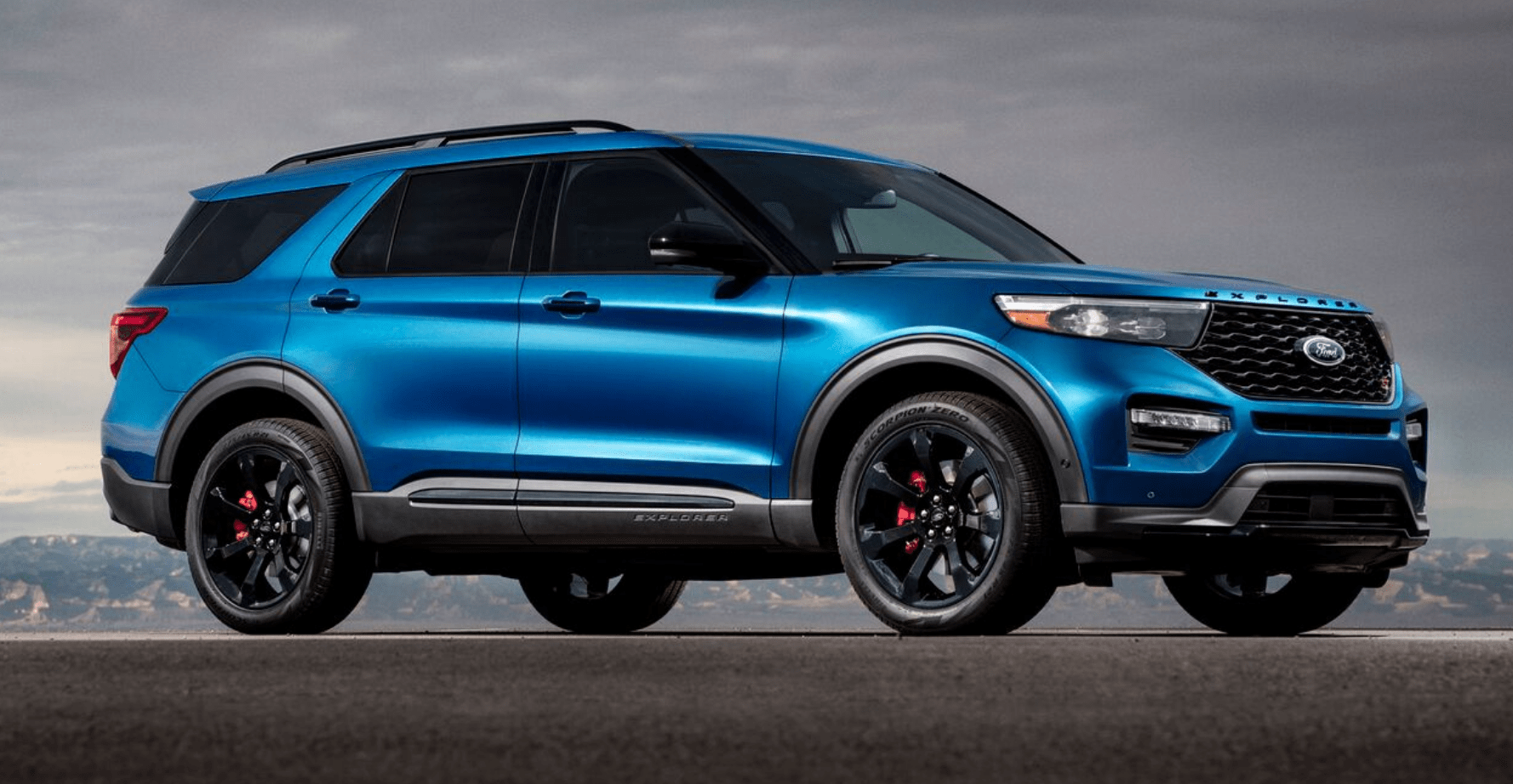 hight resolution of 2020 ford explorer st