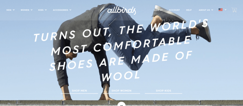Top Shopify Store: AllBirds