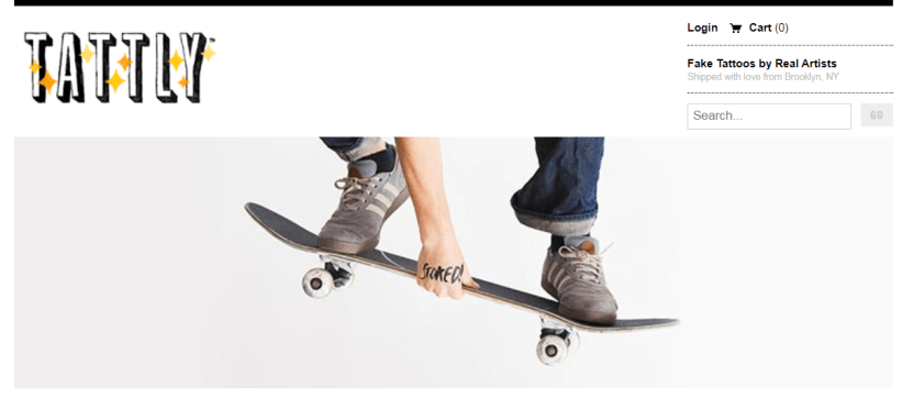 Top Shopify Store: Tattly
