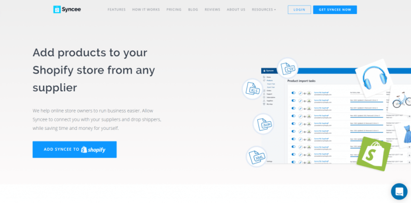 Shopify Apps for Automation: Syncee
