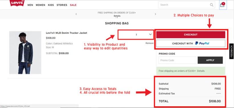 optimize-cart-page-levis