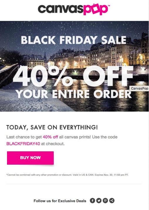 Black Friday eCommerce Hacks - Exit Intent Popups