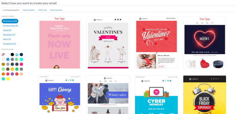 Valentine's Day Email Templates