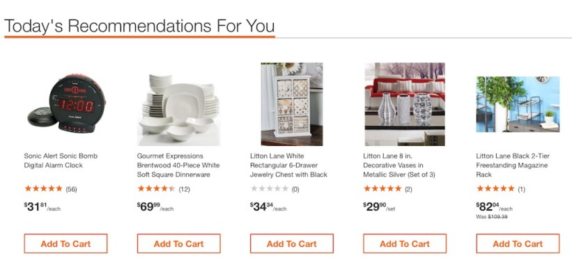 ecommerce personalization examples