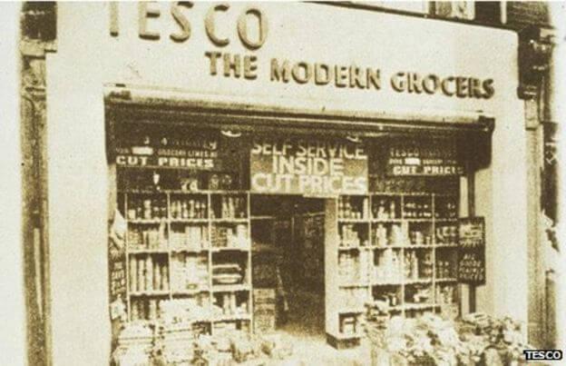 First Tesco store