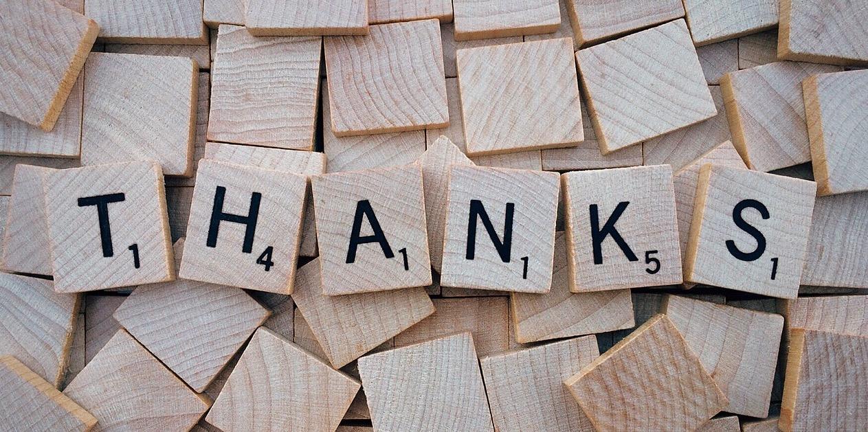 Nota de Agradecimento