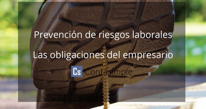 Prevencion de riesgos laborales para autonomos