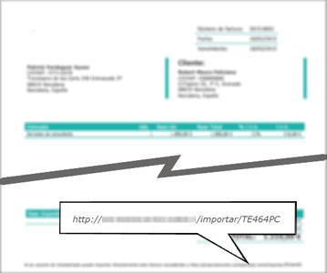 Importar facturas recibidas de otro usuario de Contasimple