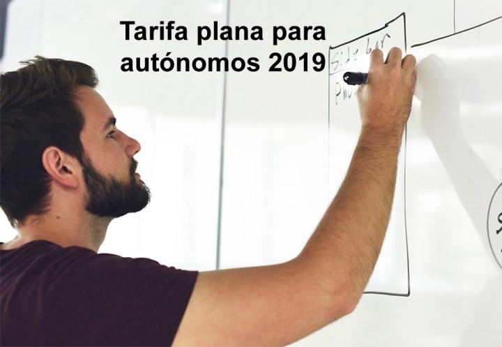 Tarifa plana para autónomos 2019