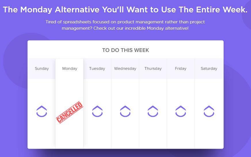 Clickup, Monday alternatives - Contentstudio