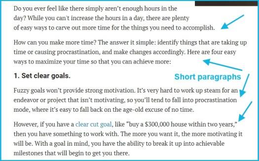 short paragraph on hard work