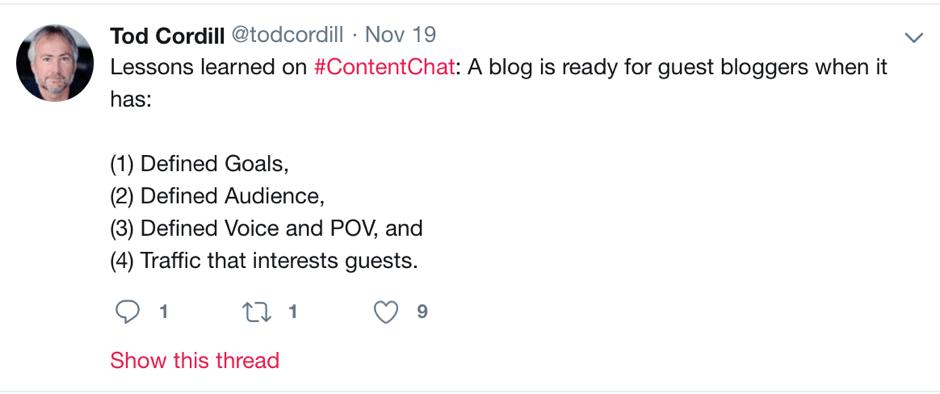 twitter marketing - CotnentStudio