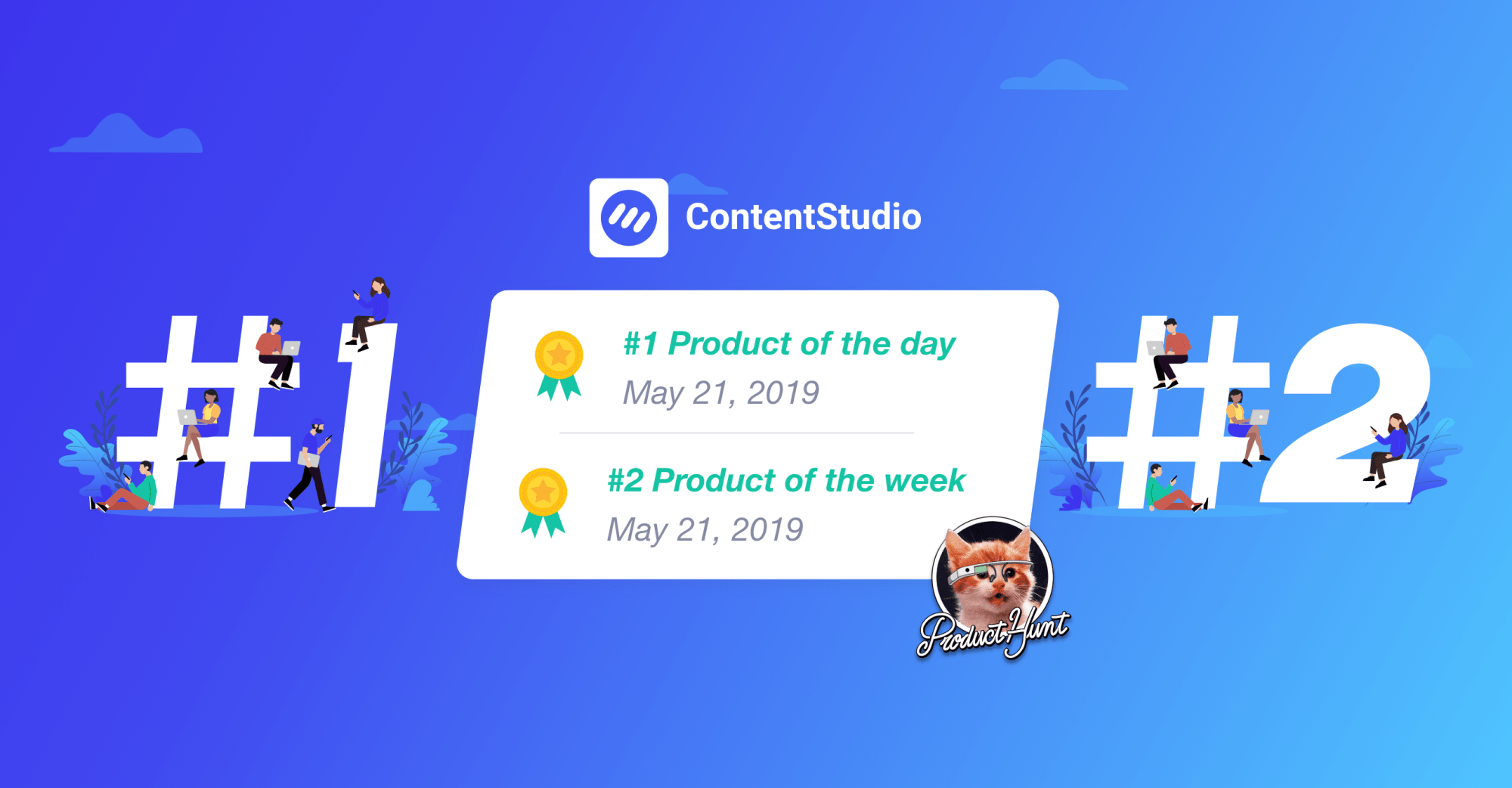 ContentStudio on Product Hunt