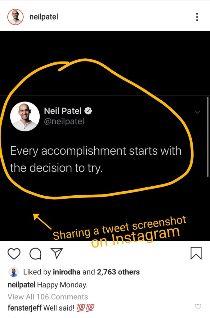 Neil Patel on Instagram