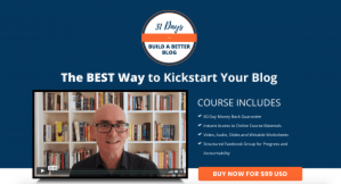 course for bloggers
