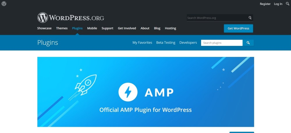 AMP wordpress