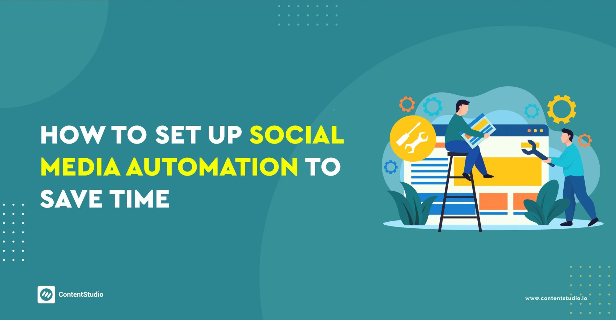social media automation to save time