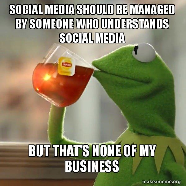 none of my business meme