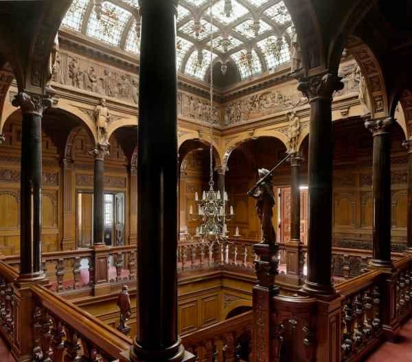 Gothic Mansion Interior