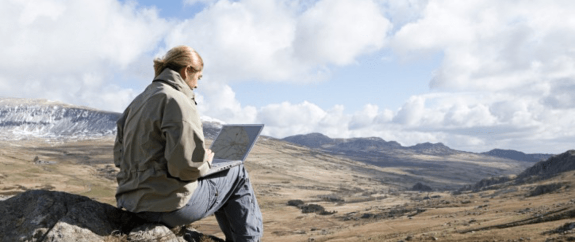 La vie rêvée des nomades numériques