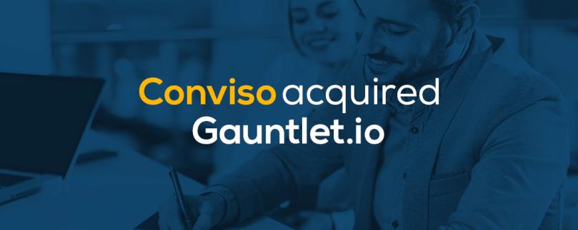 Conviso acquired Gauntlet