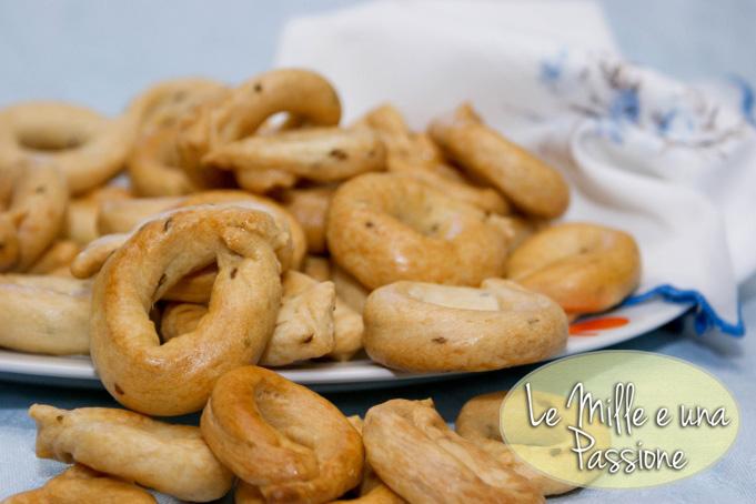 Taralli con anice  Le mille e una passione  in cucina