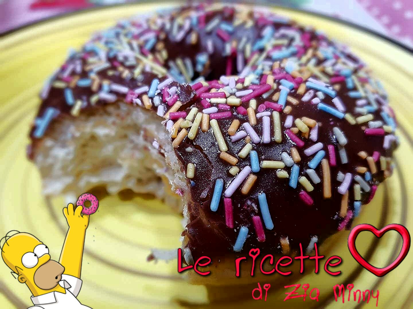 DONUTS CIAMBELLE HOMER SIMPSON