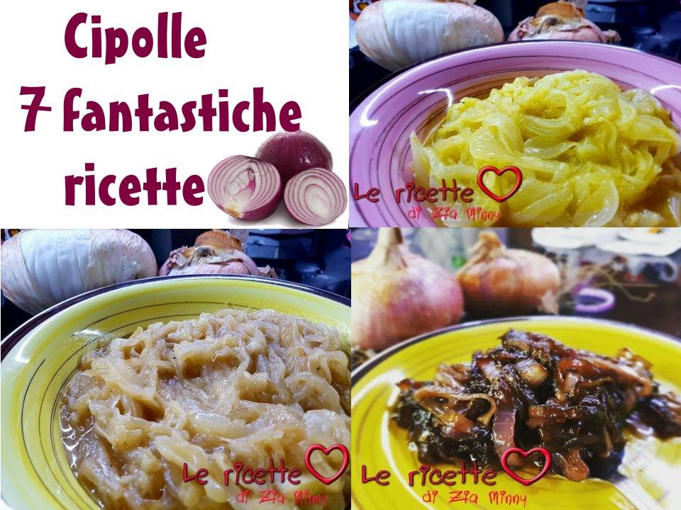 CIPOLLE 7 FANTASTICHE RICETTE