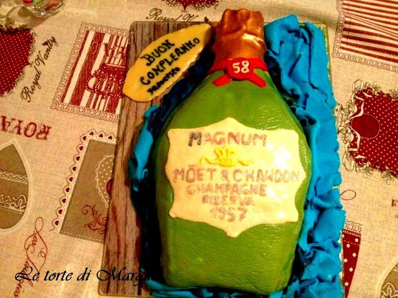 Torta classica di compleanno con crema e panna  Le torte di Marghe
