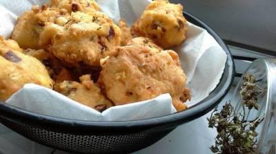 Receta de buñuelos de jamón ibérico y queso