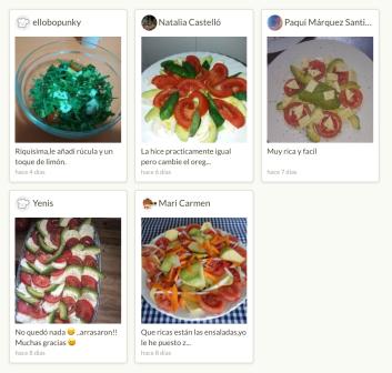 Foto respuestas de la ensalada caprese