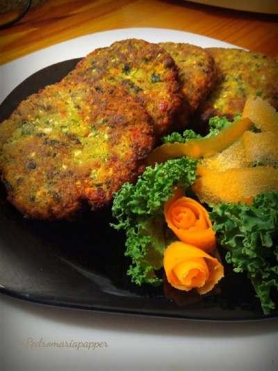 Receta de hamburguesas de Kale
