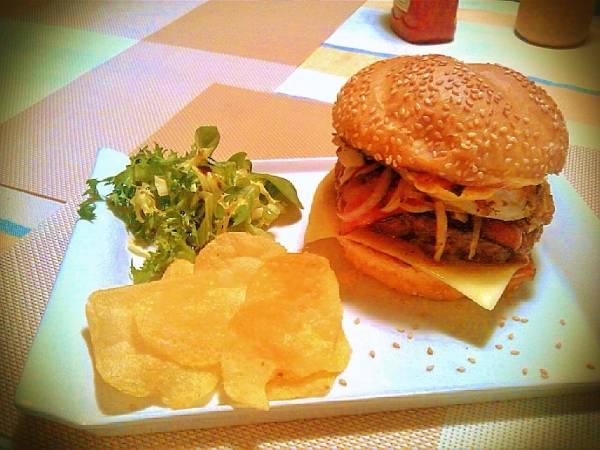 Receta hamburguesa de ternera